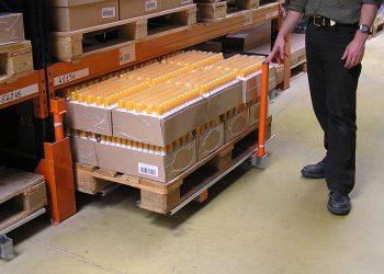Tiroirs de stockage à plateau palette 120 x 80 – Ouverture 70%