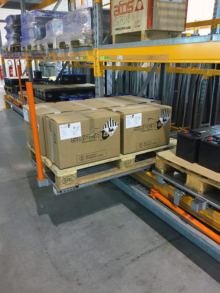 Tiroir Lisse basse - Stockage palette de cartons