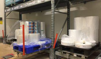 Tiroirs de stockage à plateau palette 80 x 120 – Ouverture 70%