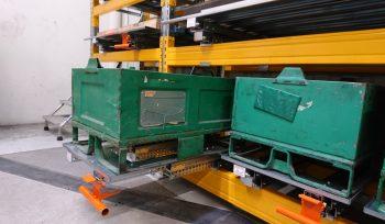 Tiroirs de stockage à plateau palette 80 x 120 – Ouverture 100 %