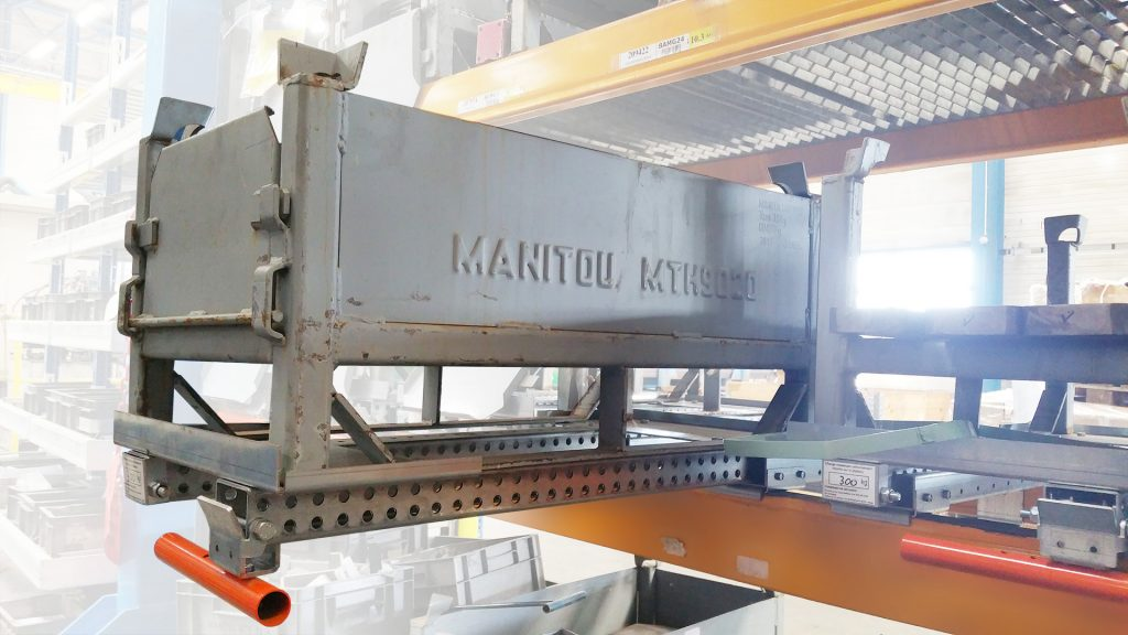 Tiroirs de stockage à plateau acier - 400x900 mm - Ouverture 78%